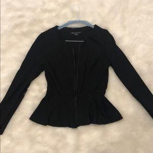 Armani Exchange peplum jacket